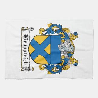 Escudo de la familia de Kirkpatrick Toalla De Cocina