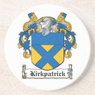 Escudo de la familia de Kirkpatrick Posavaso Para Bebida