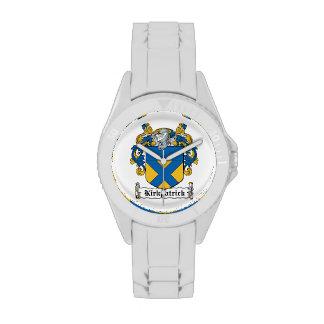 Escudo de la familia de Kirkpatrick Relojes De Pulsera