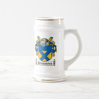 Escudo de la familia de Kirkpatrick Jarra De Cerveza