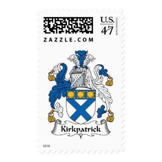 Escudo de la familia de Kirkpatrick Timbre Postal