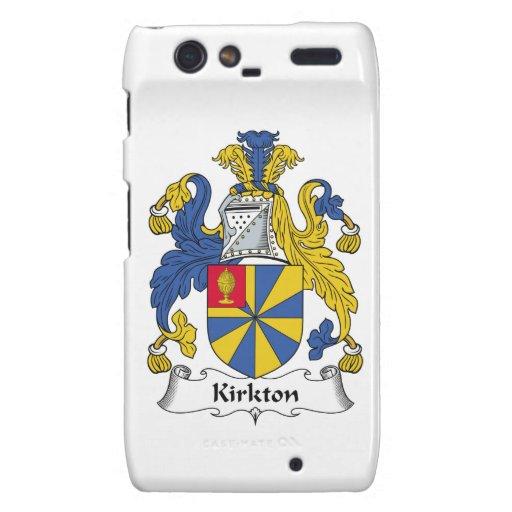 Escudo de la familia de Kirkton Motorola Droid RAZR Funda