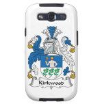 Escudo de la familia de Kirkwood Galaxy SIII Fundas
