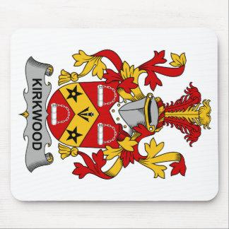 Escudo de la familia de Kirkwood Tapetes De Raton