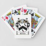 Escudo de la familia de Kirwan Baraja Cartas De Poker