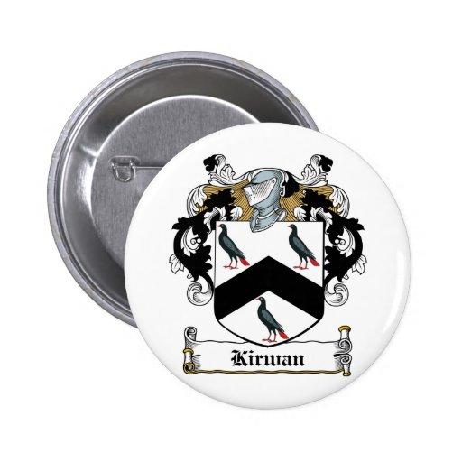 Escudo de la familia de Kirwan Pins