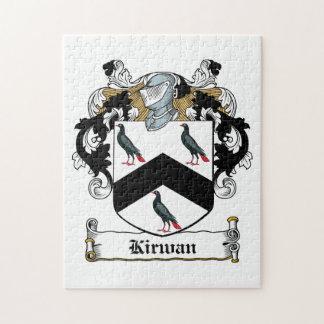 Escudo de la familia de Kirwan Rompecabezas