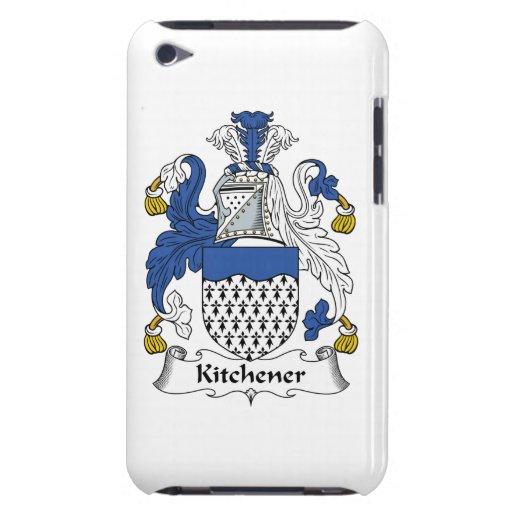 Escudo de la familia de Kitchener Barely There iPod Coberturas