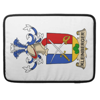 Escudo de la familia de Kleinberger Fundas Para Macbooks