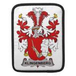 Escudo de la familia de Klingenberg Funda Para iPads