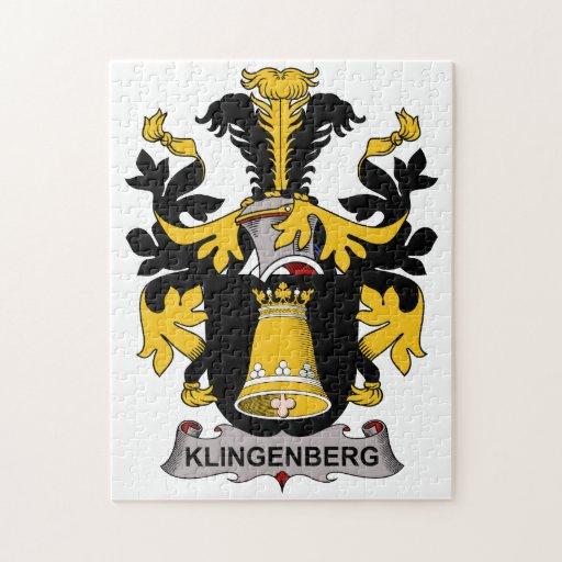 Escudo de la familia de Klingenberg Puzzles