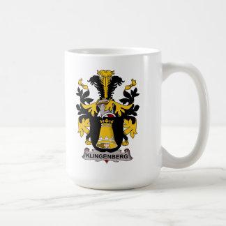 Escudo de la familia de Klingenberg Taza Clásica