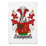 Escudo de la familia de Klingspor iPad Mini Protectores