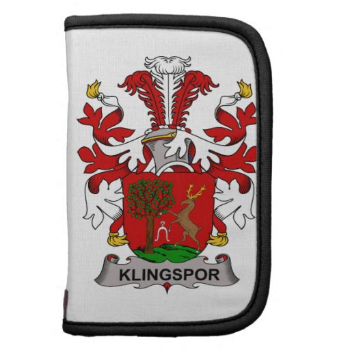 Escudo de la familia de Klingspor Organizadores