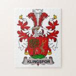 Escudo de la familia de Klingspor Puzzles