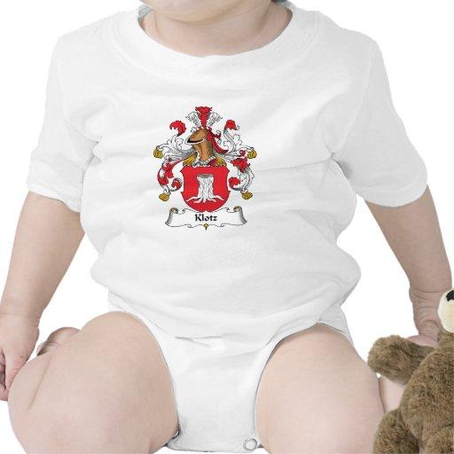 Escudo de la familia de Klotz Trajes De Bebé