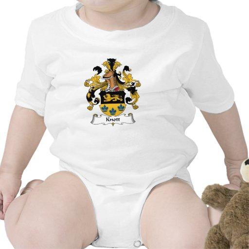 Escudo de la familia de Knott Trajes De Bebé