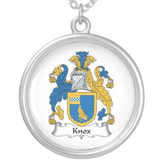 Escudo de la familia de Knox Colgantes
