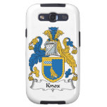 Escudo de la familia de Knox Galaxy S3 Cárcasa