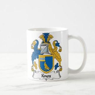 Escudo de la familia de Knox Taza De Café