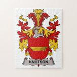 Escudo de la familia de Knutson Puzzles Con Fotos