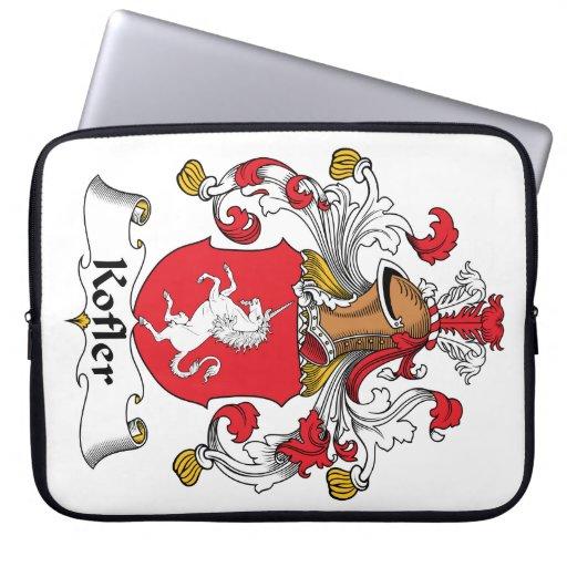 Escudo de la familia de Kofler Manga Computadora