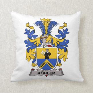 Escudo de la familia de Kohler Almohadas