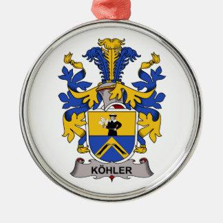 Escudo de la familia de Kohler Ornamentos De Reyes Magos