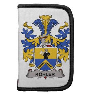 Escudo de la familia de Kohler Planificadores