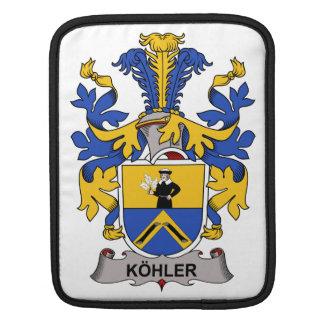 Escudo de la familia de Kohler Funda Para iPads