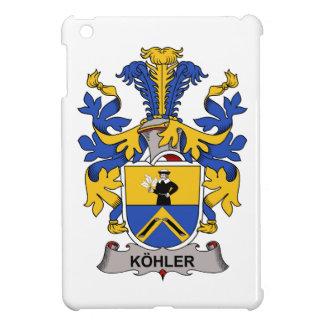 Escudo de la familia de Kohler iPad Mini Funda