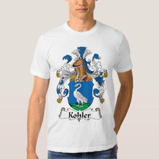 Escudo de la familia de Kohler Playera