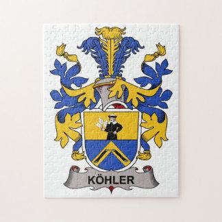 Escudo de la familia de Kohler Puzzles Con Fotos