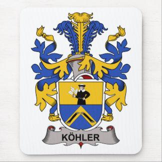Escudo de la familia de Kohler Alfombrilla De Ratón