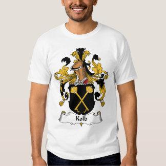 Escudo de la familia de Kolb Camisas
