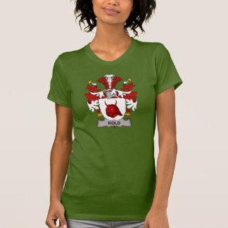 Escudo de la familia de Kold Camisetas