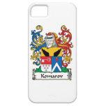 Escudo de la familia de Komarov iPhone 5 Protectores