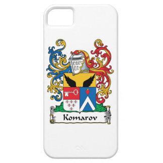 Escudo de la familia de Komarov iPhone 5 Carcasas