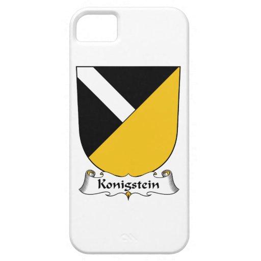 Escudo de la familia de Konigstein iPhone 5 Cárcasa