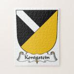Escudo de la familia de Konigstein Puzzles