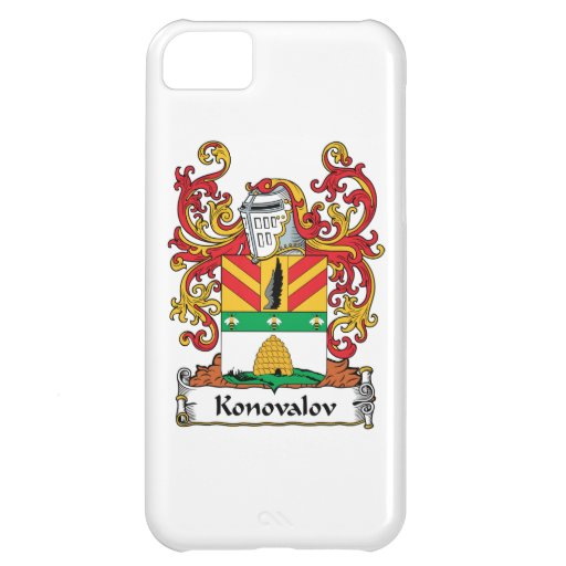 Escudo de la familia de Konovalov Funda Para iPhone 5C