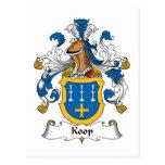 Escudo de la familia de Koop Postal