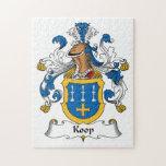 Escudo de la familia de Koop Puzzles Con Fotos