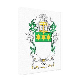 Escudo de la familia de Koot Lienzo Envuelto Para Galerías