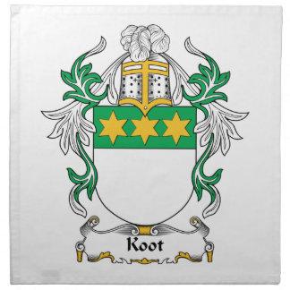Escudo de la familia de Koot Servilleta De Papel