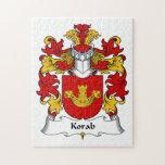 Escudo de la familia de Korab Puzzles Con Fotos