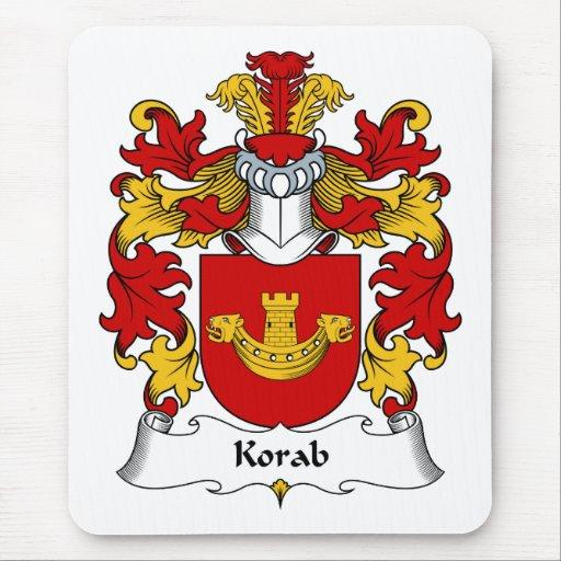 Escudo de la familia de Korab Tapete De Raton