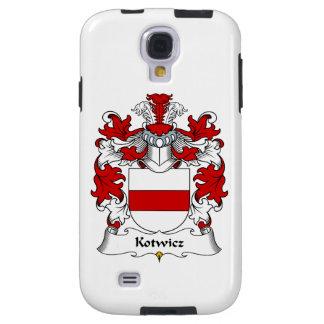 Escudo de la familia de Kotwicz Funda Galaxy S4