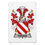 Escudo de la familia de Krabbe iPad Mini Carcasa