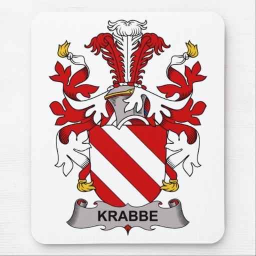 Escudo de la familia de Krabbe Tapete De Raton